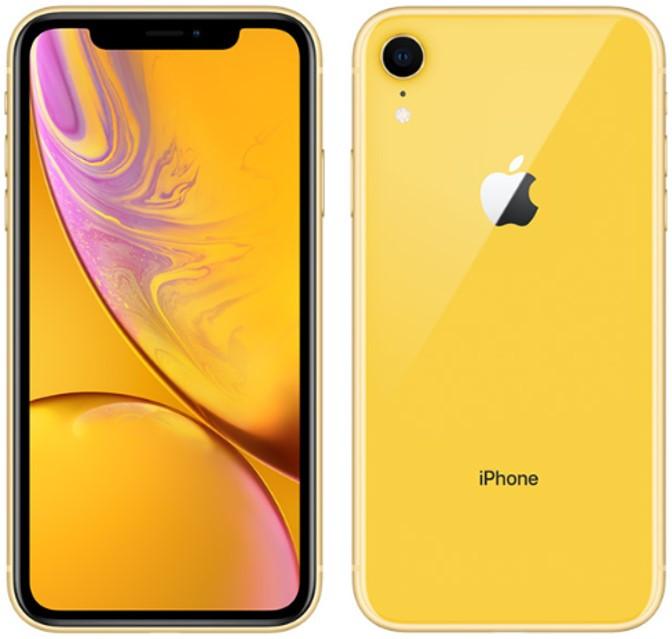 Apple iPhone XR A2108 Dual Sim 256GB Yellow