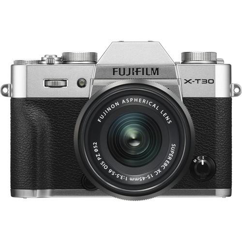 Fujifilm X-T30 Kit (XC 15-45mm f/3.5-5.6 OIS PZ) Silver