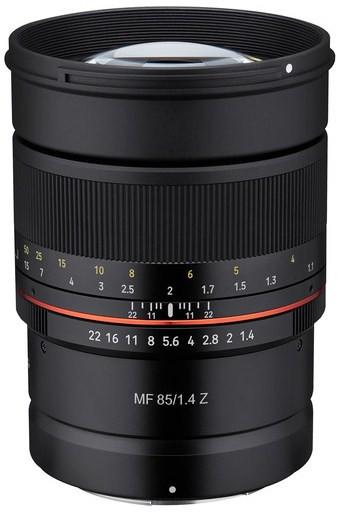 Samyang MF 85mm F1.4 Z (Nikon Z)