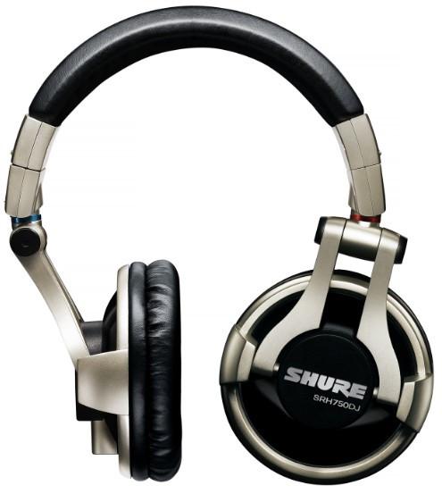 SHURE SRH750DJ  Headphones