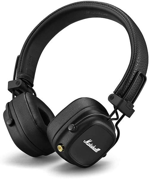 Marshall Major IV Wireless Headphones Black