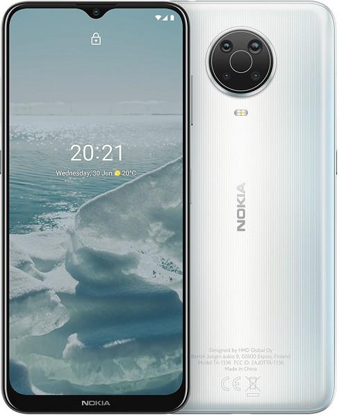 Nokia G20 TA-1336 Dual Sim 128GB Silver (4GB RAM)