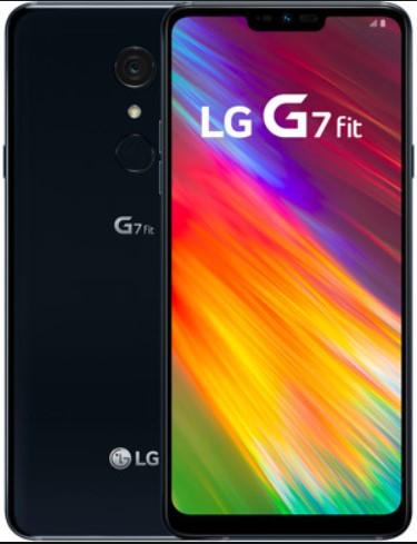 LG G7 Fit Q850EAW Dual Sim 64GB Black (4GB RAM)