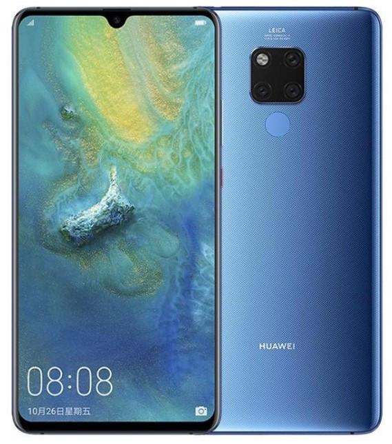 Huawei Mate 20 X EVR-L29 Dual Sim 128GB Midnight Blue (6GB RAM)
