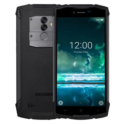 DOOGEE S55 Triple Proofing Phone Dual Sim 64GB Black (4GB RAM)