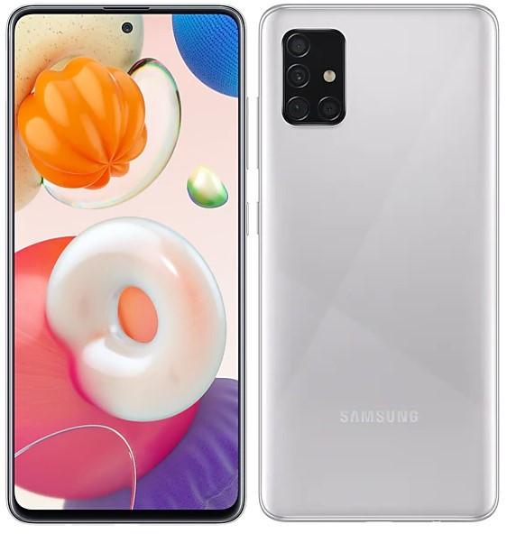 Samsung Galaxy A51 Dual Sim A515FD 128GB Silver (8GB RAM)