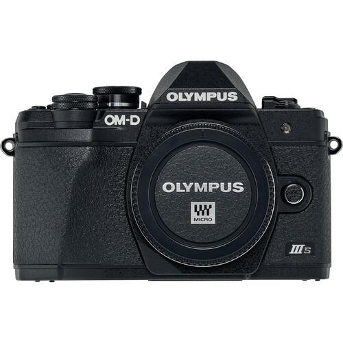 Olympus OM-D E-M10 MK III S Body (kit box) Black