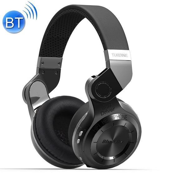 Bluedio T2 Turbine Wireless Bluetooth 4.1 Stereo Headphones with Mic (Black)