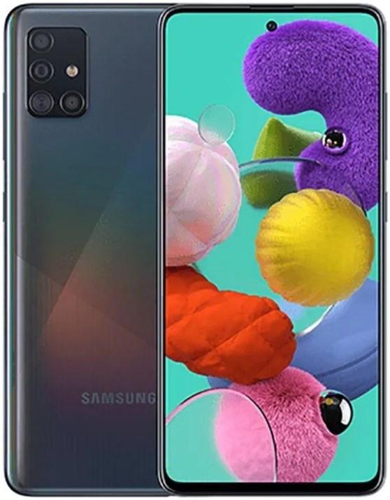 Samsung Galaxy A51 Dual A515FD 128GB Black (4GB RAM)
