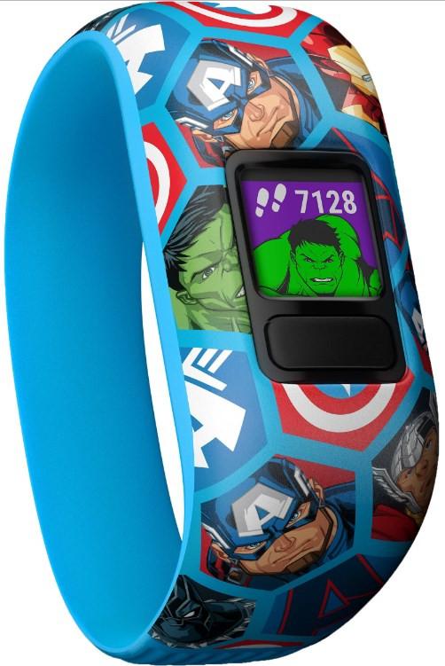 Garmin Vivofit Jr 2 Kid's Activity Tracker - Stretchy Avengers фото