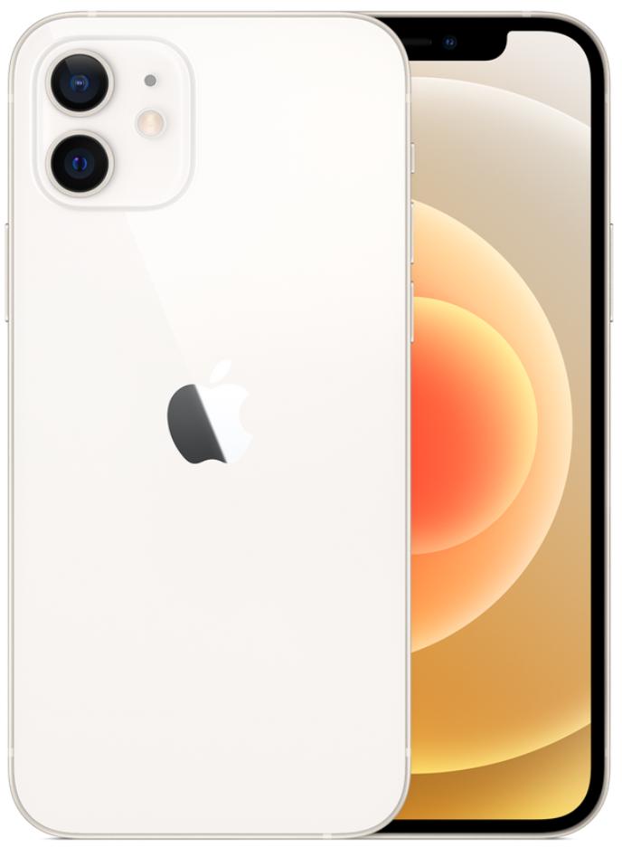 Apple iPhone 12 5G 256GB White (eSIM)