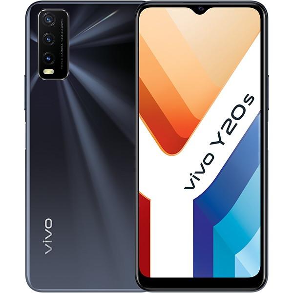 Vivo Y20S Dual Sim 128GB Black (6GB RAM)