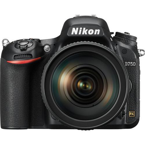 Nikon D750 Kit (NIKKOR 24-120mm f/4G ED VR)
