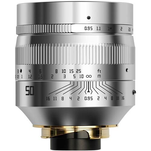 TTArtisan 50mm F0.95 (Leica M) Silver