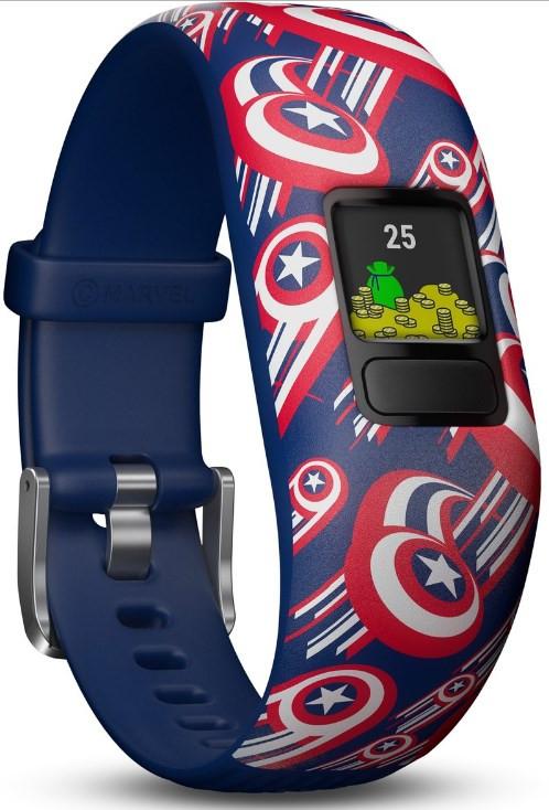 Garmin Vivofit Jr 2 Kid's Activity Tracker - Adjustable Captain America