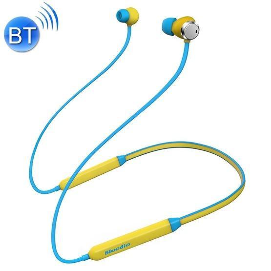 Etoren Com Bluedio Tn Bluetooth 4 2 Wireless Sports Headphones Magnetic Noise Cancelling Running Earbuds With Mic Yellow 45 Etoren Com