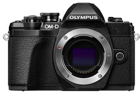Olympus OM-D E-M10 MK III (14-42 II R) Black фото