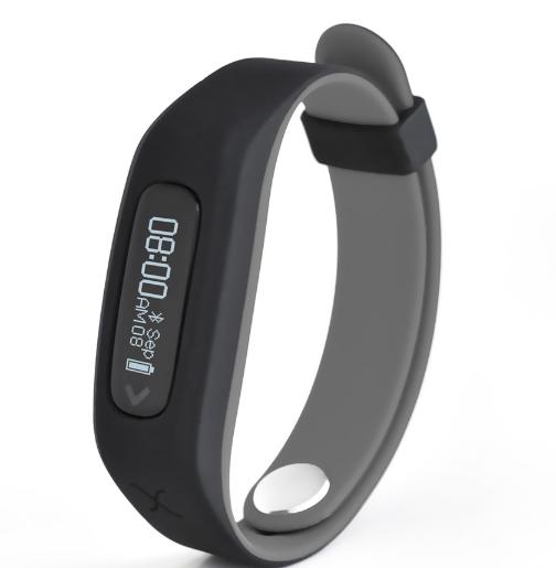 Actxa Swift Smart Fitness Band Grey