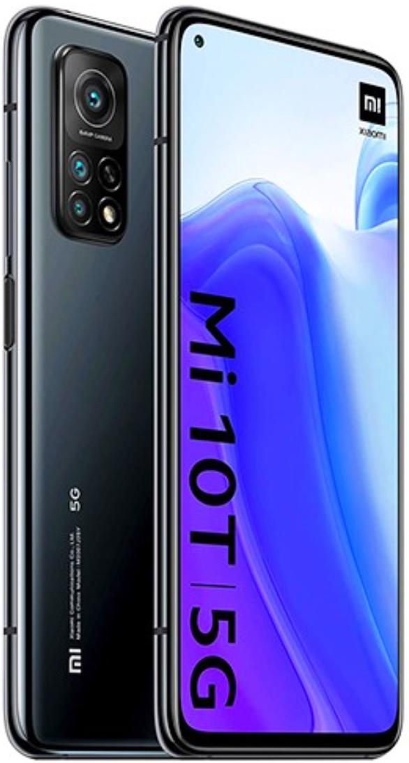 Xiaomi Mi 10T 5G Dual Sim 128GB Black (8GB RAM)