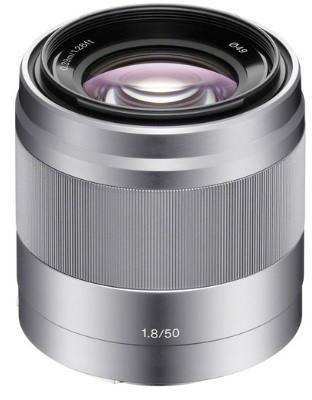 Sony E 50mm F1.8 OSS Silver (NEX)