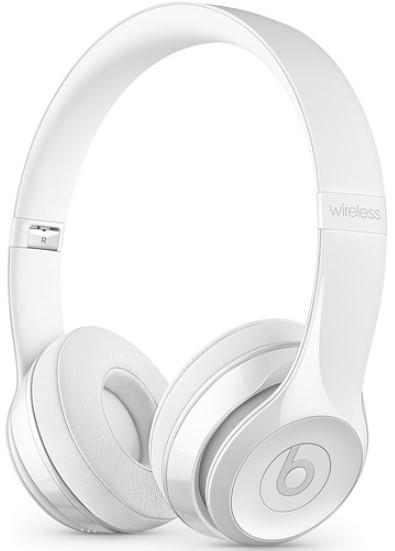 Beats Solo 3 Wireless Headphone Glossy White