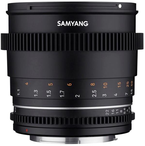 Samyang 85mm T1.5 VDSLR MK2 (Canon RF)