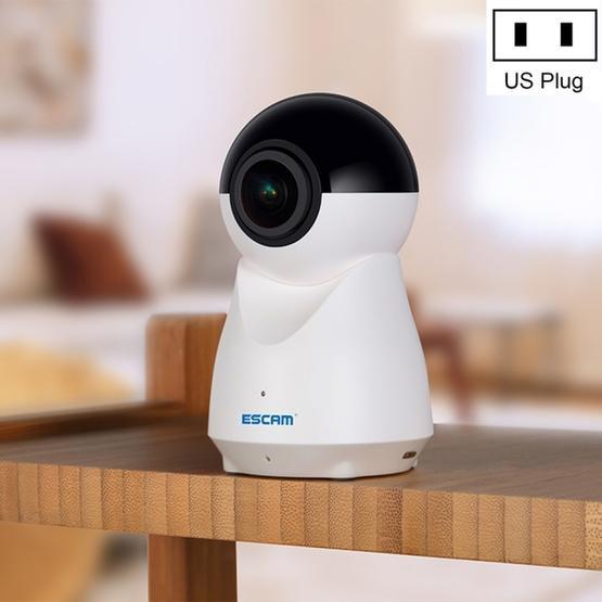 ESCAM QP720 H.265 1080P 720 Degree Panoramic WIFI IP Camera - US Plug