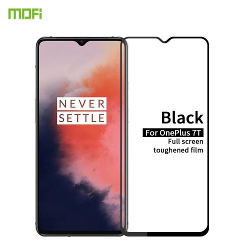 For Oneplus 7T MOFI 9H 2.5D Full Screen Tempered Glass Film(Black)