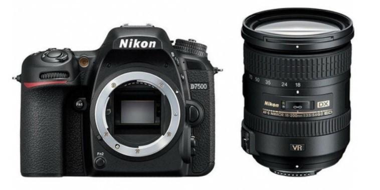 Nikon D7500 Kit (NIKKOR 18–200mm f/3.5-5.6G ED VR II)