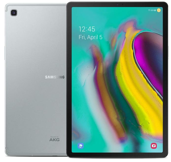 "Samsung Galaxy Tab S5e 10.5""(2019) T725N LTE 64GB Silver + FREE Samsung Tab S5e Book Cover + CK One Gold EDT Perfume 100ml"