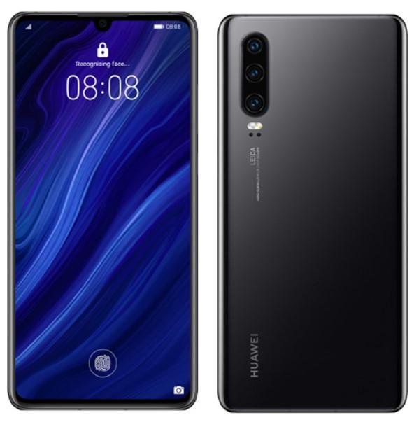 Huawei P30 ELE-AL00 Dual Sim 256GB Black (8GB RAM)