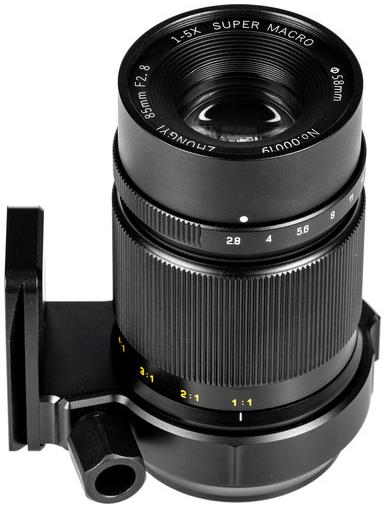 Zhongyi Mitakon 85mm f/2.8 1-5x (Canon EF)