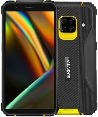 Blackview BV5100 Rugged Phone Dual Sim 64GB Yellow (4GB RAM)