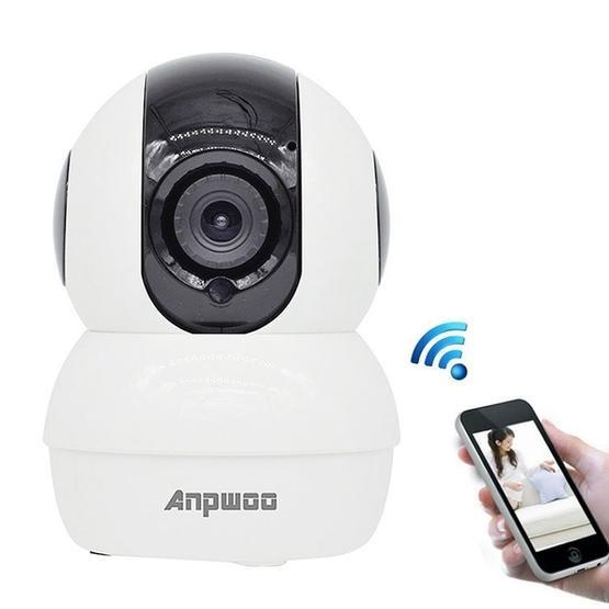 Anpwoo YT006 720P HD WiFi IP Camera (White)