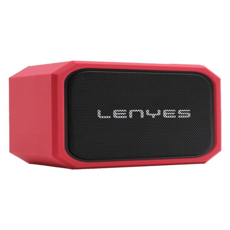 Lenyes S107 20W IPX7 Waterproof HiFi Bass Wireless Bluetooth Speaker (Red)