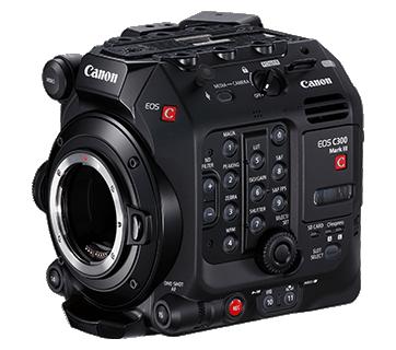 Canon EOS C300 Mark III Camera Body (EF mount)