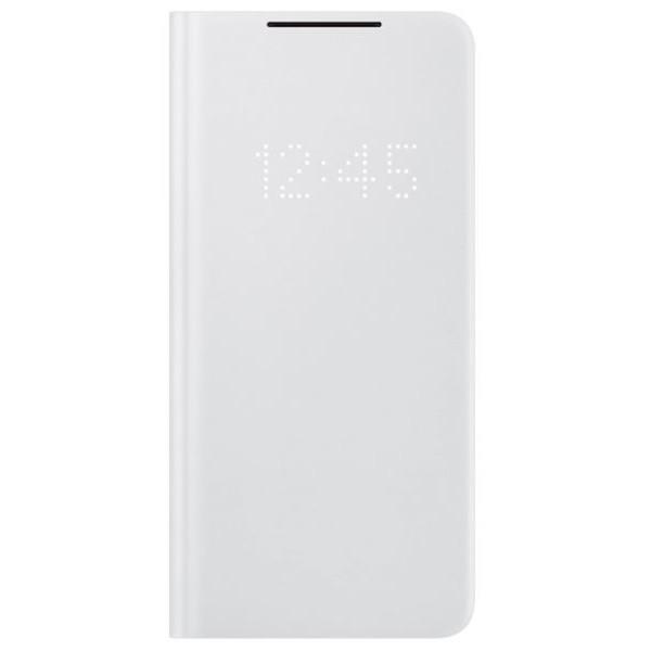 Samsung Galaxy S21 Plus Smart LED Phone Cover Light Gray