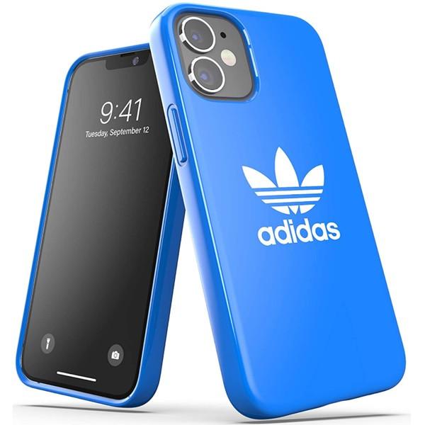 Adidas Trefoil Snap Case for iPhone 12 Mini Bluebird