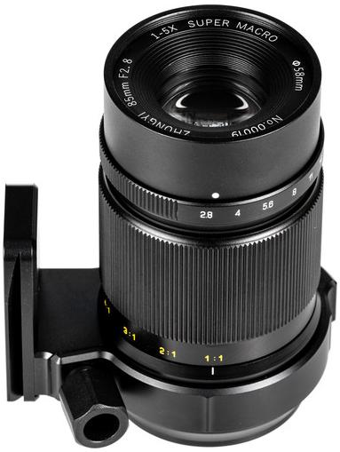 Zhongyi Mitakon 85mm f/2.8 1-5x (Fuji X)