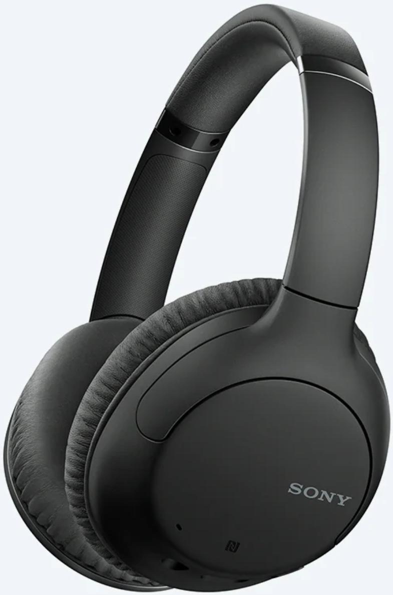 Sony WH-CH710N Wireless Over-Ear Headphones Black