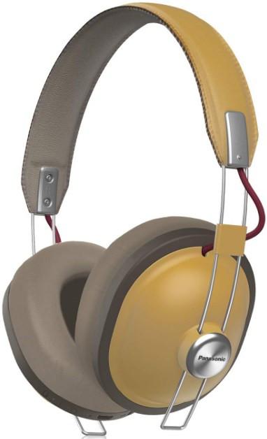 Panasonic RP-HTX80B Wireless Headphones Ocre