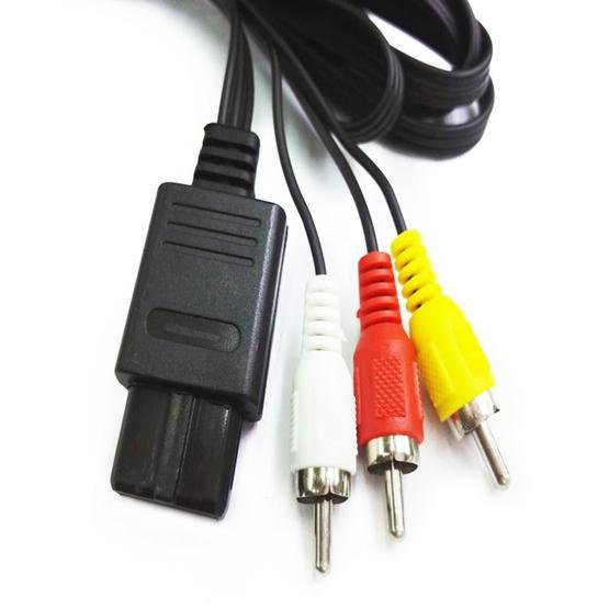 5 PCS Multi-function AV Cable for Nintendo N64 / NGC