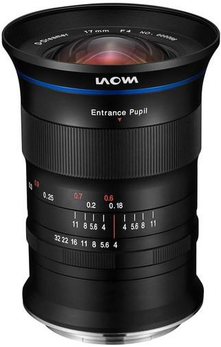 LAOWA 17mm f/4 Ultra-Wide GFX Zero-D (Fuji G)