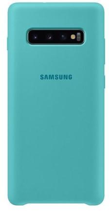 Samsung Galaxy S10 Silicon Phone Cover (Green)