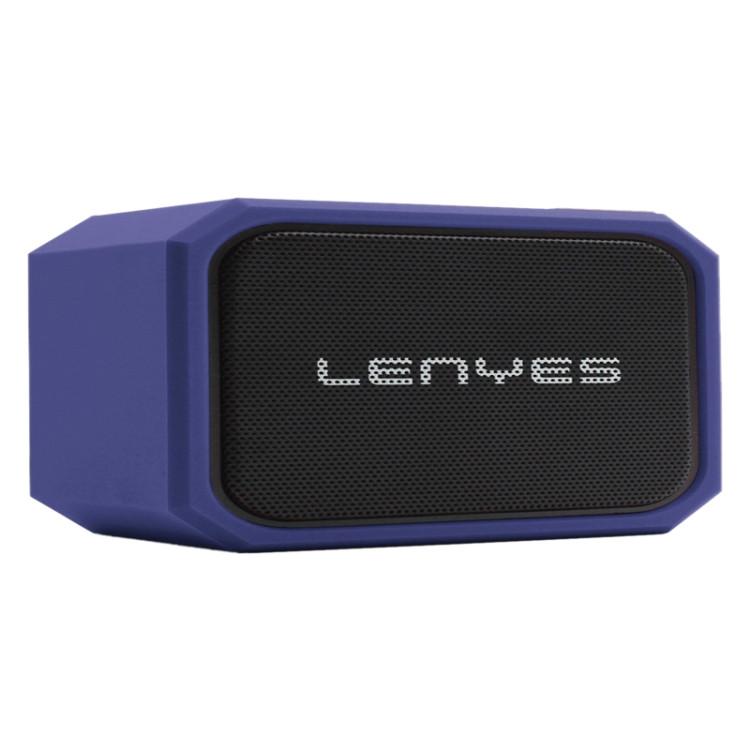 Lenyes S107 20W IPX7 Waterproof HiFi Bass Wireless Bluetooth Speaker (Blue)