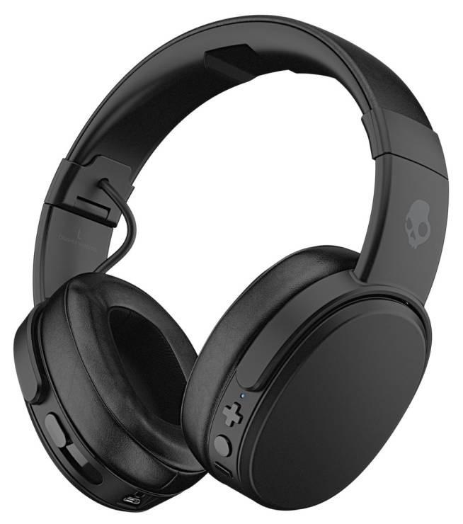 SkullCandy Crusher Wireless Over-Ear Headphones Black