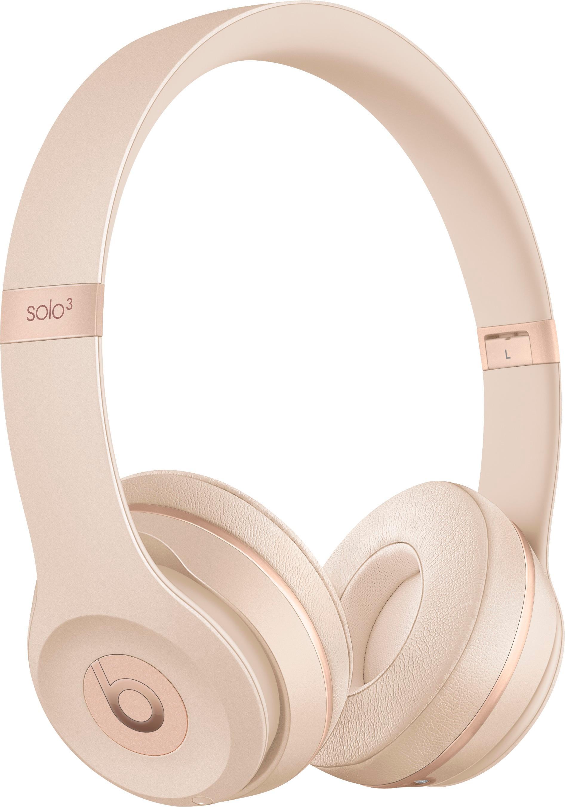 Beats Solo 3 Wireless Headphone Matte Gold