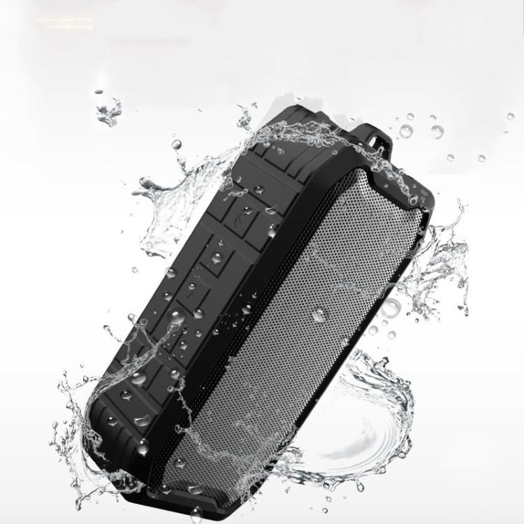 M3 Wireless Bluetooth Speakers Waterproof Portable Outdoor Loudspeaker Mini Box Speaker (Black)