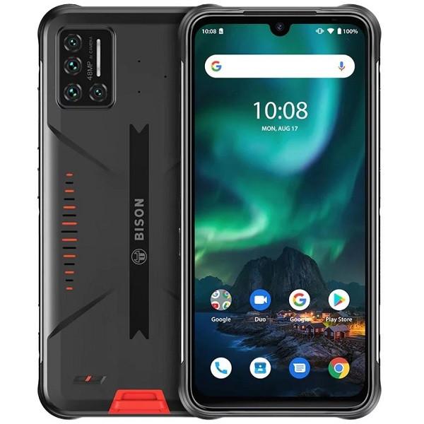 UMIDIGI BISON Dual Sim Rugged Phone 128GB Orange (8GB RAM)