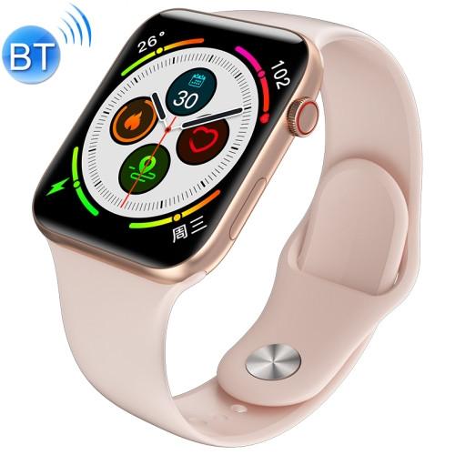 Elephone W6 1.54 Waterproof Smart Watch with Metal Watchband Pink